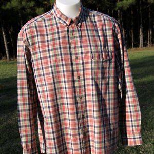 Men's Lucky Brand Button Front Casual Shirt XXL